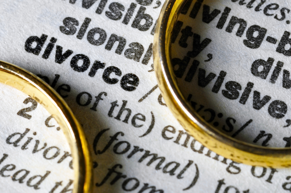 Wedding rings on definition of divorce
